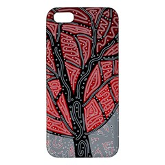 Decorative tree 1 Apple iPhone 5 Premium Hardshell Case
