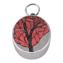 Decorative tree 1 Mini Silver Compasses