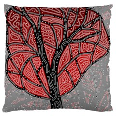 Decorative tree 1 Standard Flano Cushion Case (Two Sides)
