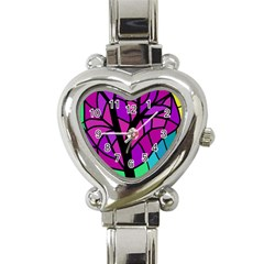 Decorative tree 2 Heart Italian Charm Watch
