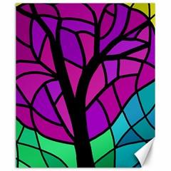 Decorative tree 2 Canvas 20  x 24