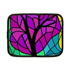 Decorative tree 2 Netbook Case (Small)
