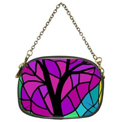 Decorative tree 2 Chain Purses (Two Sides)