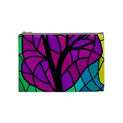Decorative tree 2 Cosmetic Bag (Medium)