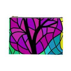 Decorative tree 2 Cosmetic Bag (Large)