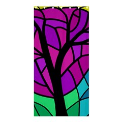 Decorative tree 2 Shower Curtain 36  x 72  (Stall)