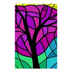 Decorative tree 2 Shower Curtain 48  x 72  (Small)