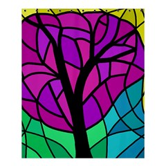 Decorative tree 2 Shower Curtain 60  x 72  (Medium)