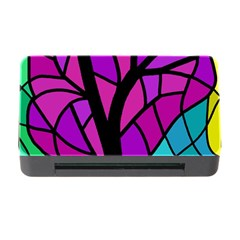 Decorative tree 2 Memory Card Reader with CF