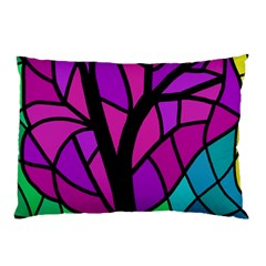 Decorative tree 2 Pillow Case (Two Sides)