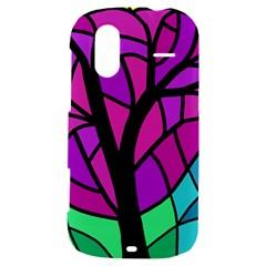 Decorative tree 2 HTC Amaze 4G Hardshell Case