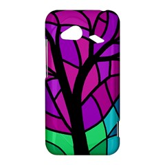 Decorative tree 2 HTC Droid Incredible 4G LTE Hardshell Case