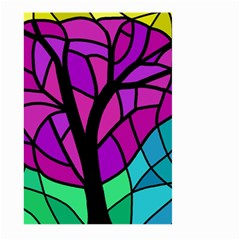 Decorative tree 2 Large Garden Flag (Two Sides)