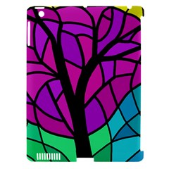 Decorative tree 2 Apple iPad 3/4 Hardshell Case (Compatible with Smart Cover)