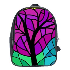 Decorative tree 2 School Bags (XL)
