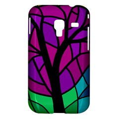 Decorative tree 2 Samsung Galaxy Ace Plus S7500 Hardshell Case