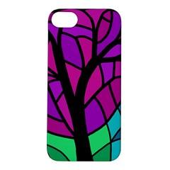 Decorative tree 2 Apple iPhone 5S/ SE Hardshell Case