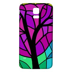 Decorative tree 2 Samsung Galaxy S5 Back Case (White)