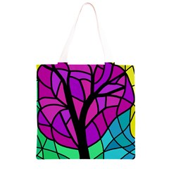 Decorative tree 2 Grocery Light Tote Bag