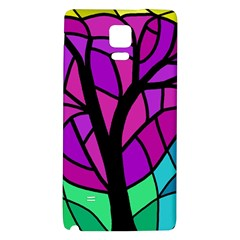 Decorative tree 2 Galaxy Note 4 Back Case