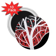 Decorative tree 3 2.25  Magnets (10 pack)