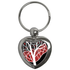 Decorative tree 3 Key Chains (Heart)