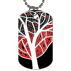 Decorative tree 3 Dog Tag (Two Sides)
