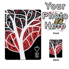 Decorative tree 3 Playing Cards 54 Designs