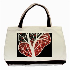 Decorative tree 3 Basic Tote Bag (Two Sides)