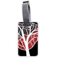 Decorative tree 3 Luggage Tags (Two Sides)
