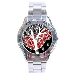 Decorative tree 3 Stainless Steel Analogue Watch