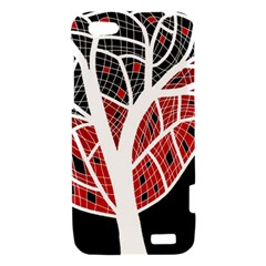 Decorative tree 3 HTC One V Hardshell Case