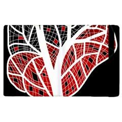 Decorative tree 3 Apple iPad 3/4 Flip Case