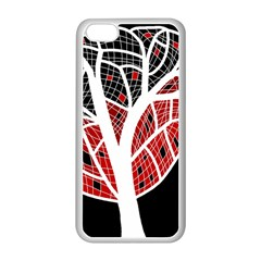 Decorative tree 3 Apple iPhone 5C Seamless Case (White)