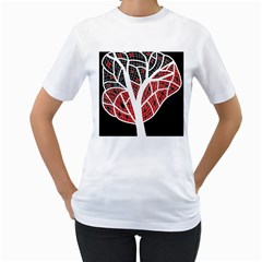 Decorative tree 3 Women s T-Shirt (White)