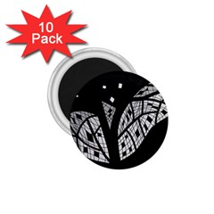 Black and white tree 1.75  Magnets (10 pack)