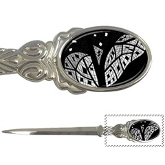 Black and white tree Letter Openers