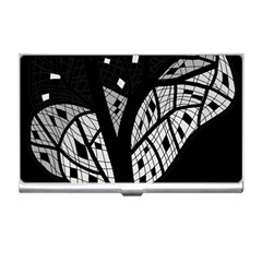 Black and white tree Business Card Holders