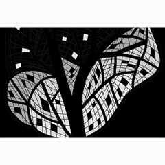 Black and white tree Collage Prints