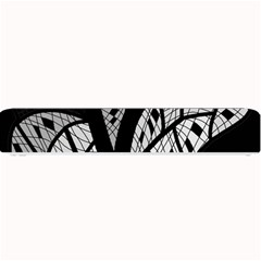 Black and white tree Small Bar Mats