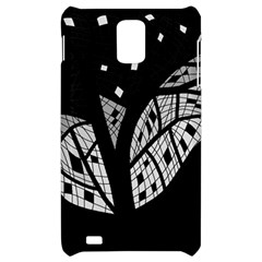 Black and white tree Samsung Infuse 4G Hardshell Case