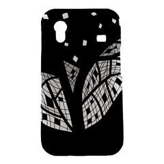 Black and white tree Samsung Galaxy Ace S5830 Hardshell Case