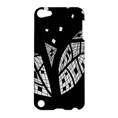 Black and white tree Apple iPod Touch 5 Hardshell Case