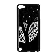 Black and white tree Apple iPod Touch 5 Case (Black)