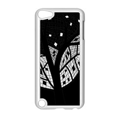 Black and white tree Apple iPod Touch 5 Case (White)