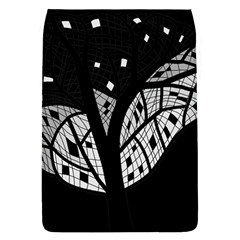 Black and white tree Flap Covers (L)