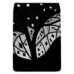 Black and white tree Flap Covers (S)