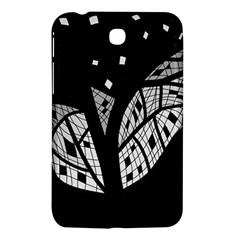 Black and white tree Samsung Galaxy Tab 3 (7 ) P3200 Hardshell Case