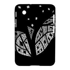 Black and white tree Samsung Galaxy Tab 2 (7 ) P3100 Hardshell Case