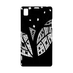 Black and white tree Sony Xperia Z1
